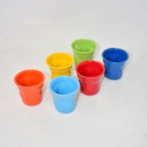 6 Tazzine Colorate Bialetti