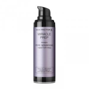 Max Miracle Prep Primer Pore Minimising + Mattifying 30ml