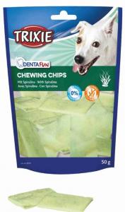Chips da masticare con Spirulina per cani