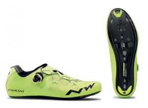 NORTHWAVE Road Cycling Shoes EXTREME RR Fluo Yellow