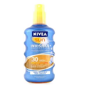 Nivea Sun Spray Solare Invisible Protection Spf30 200ml
