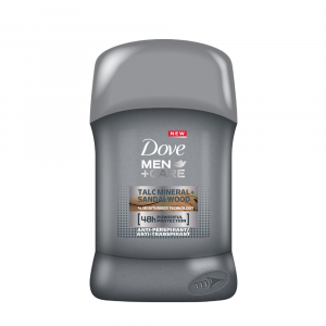DOVE Deodorante stick Men+Care Talc Mineral + Sandal Wood 40 ml