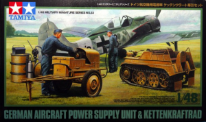 German Aircraft Power Supply Unit & Kettenkraftrad