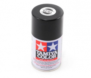 Semi Gloss Black Acrylic Spray