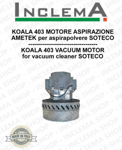 KOALA 403 Ametek Vacuum Motor for Vacuum Cleaner SOTECO
