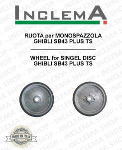 RUOTA für Einscheibenmaschinen GHIBLI SB43 PLUS TS