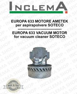 EUROPA 633 Ametek Vacuum Motor for Vacuum Cleaner SOTECO