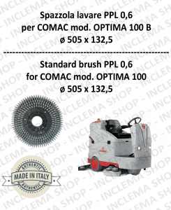 OPTIMA 100 B Strandard Wash Brush PPL 0,6 for scrubber dryer COMAC-2