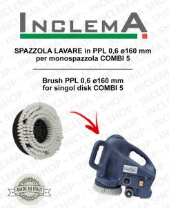 Strandard Wash Brush PPL 0,6 for single disc COMBI 5 ø160 mm