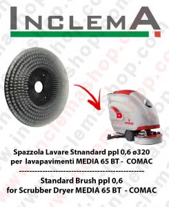 Standard Bürsten  in PPL 0,60 Größe ø320 für Scheuersaugmaschinen COMAC MEDIA 65 BT