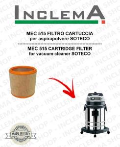 MEC 515 FILTRO CARTUCCIA per aspirapolvere SOTECO