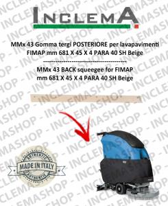 MMx 43 Hinten Sauglippen für Scheuersaugmaschinen FIMAP (till s/n 211012836)