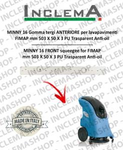 MINNY 16 goma de secado delantera para fregadora FIMAP