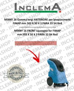 MINNY 16 Vorne Sauglippen für Scheuersaugmaschinen FIMAP