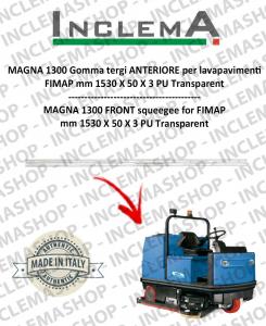 MAGNA 1300 goma de secado delantera para fregadora FIMAP