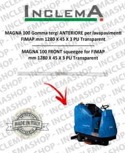 MAGNA 100 goma de secado delantera para fregadora FIMAP