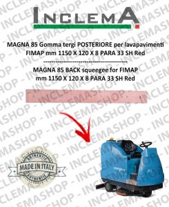 MAGNA 85 goma de secado trasero para fregadora FIMAP