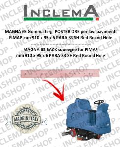 MAGNA 65 goma de secado trasero para fregadora FIMAP