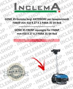 GENIE XS goma de secado delantera para fregadora FIMAP