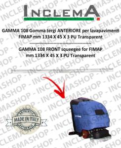 GAMMA 108 goma de secado delantera para fregadora FIMAP