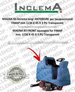 MAGNA 83 goma de secado delantera para fregadora FIMAP