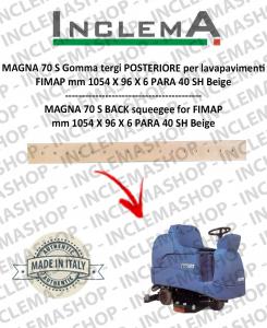 MAGNA 70 S goma de secado trasero para fregadora FIMAP