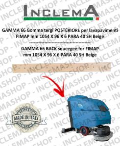GAMMA 66 goma de secado trasero para fregadora FIMAP