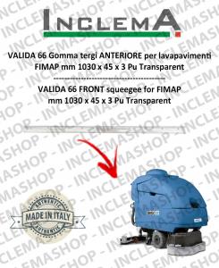 VALIDA 66 goma de secado delantera para fregadora FIMAP