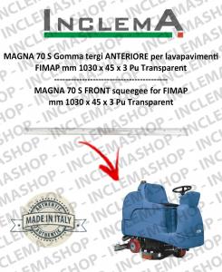 MAGNA 70 S goma de secado delantera para fregadora FIMAP