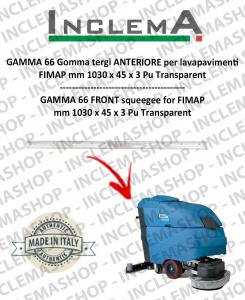 GAMMA 66 Gomma tergi ANTERIORE per lavapavimenti FIMAP