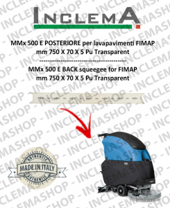 GAMMA 65 Vorne Sauglippen für Scheuersaugmaschinen FIMAP