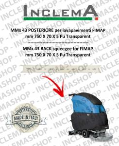 MMx 43 Hinten Sauglippen für Scheuersaugmaschinen FIMAP (From s/n 211014837)