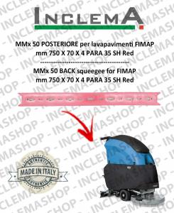 MMx 50 Hinten Sauglippen für Scheuersaugmaschinen FIMAP (From s/n 211014837)