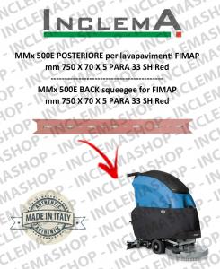 MMx 500E Hinten Sauglippen für Scheuersaugmaschinen FIMAP (From s/n 211014837)