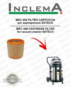 MEC 440 FILTRO CARTUCCIA per aspirapolvere SOTECO