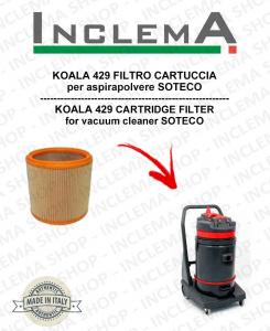 KOALA 429 FILTRO CARTUCCIA per aspirapolvere SOTECO