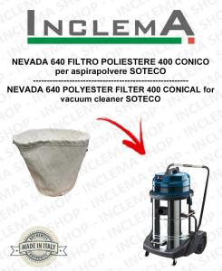 NEVADA 640 POLYESTERFILTER 440 CONICO für Staubsauger SOTECO