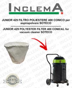 JUNIOR 429 POLYESTERFILTER 440 CONICO für Staubsauger SOTECO