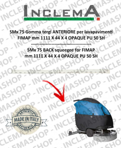 SMx 75 Front Squeegee Rubber for scrubber dryer FIMAP