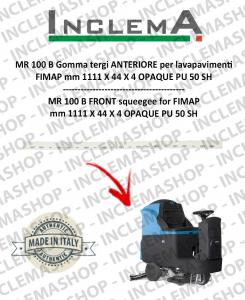 MR 100 B goma de secado delantera para fregadora FIMAP