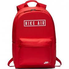 Zaino Nike Heritage Con Scritta Nike Air Red/White BA6022/657