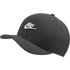 Berretto Nike Black/White Logo Taglia Unica Regolabile AV6720-010