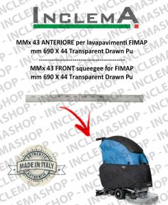 MMx 43 Gomma tergi ANTERIORE per lavapavimenti FIMAP (From s/n 211014837)