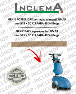 GENIE Back Squeegee Rubber for scrubber dryer FIMAP