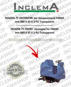 MAGNA 75 goma de secado delantera para fregadora FIMAP