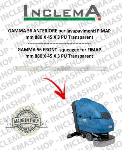GAMMA 56 Gomma tergi ANTERIORE per lavapavimenti FIMAP
