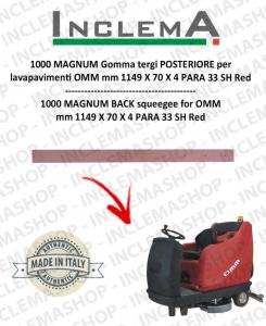 1000 MAGNUM goma de secado trasero para fregadora OMM