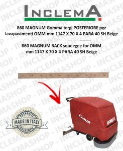 860 MAGNUM Hinten Sauglippen für Scheuersaugmaschinen OMM