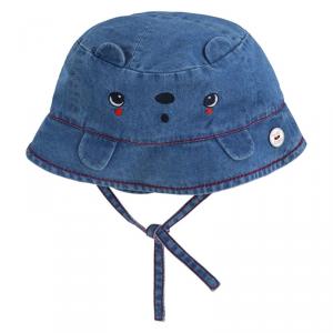 Cappello di jeans con laccio