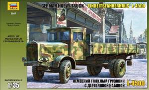 L-4500 EINHEITSFAHRERHAUS GERMAN HEAVY TRUCK